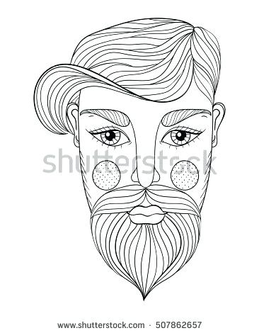 366x470 Beard Coloring Pages Coloring Pictures Metalbeard Coloring Pages