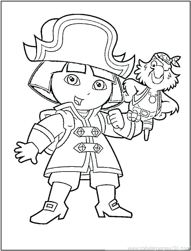 650x853 Pirates Coloring Pages Girl Pirate Coloring Pages New Girl Pirate