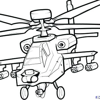 350x350 Coloring Pages Draw A Helicopter Helicopter Coloring Page Army