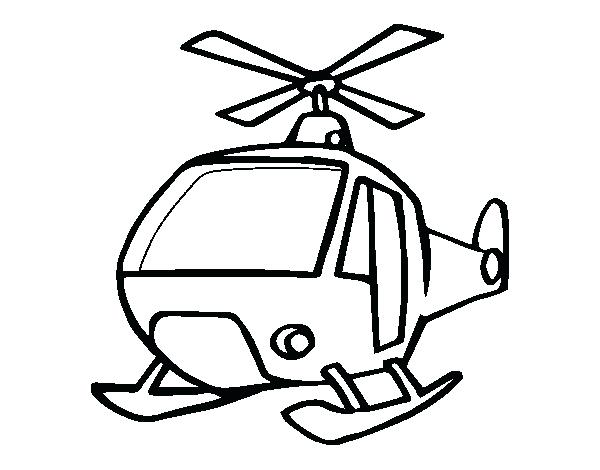 600x470 Helicopter Coloring Page A Helicopter Coloring Page Cartoon