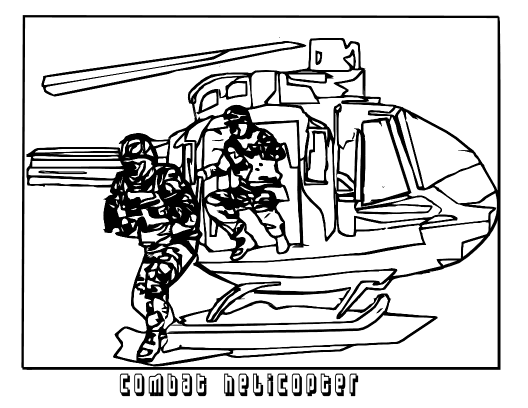 1056x816 Army Helicopter Coloring Pages Printable Coloringstar Entrancing