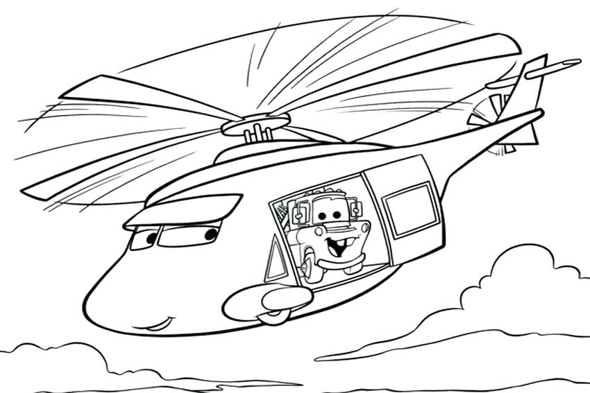 850x567 Helicopter Coloring Page Cars Helicopter Flying Lego Police