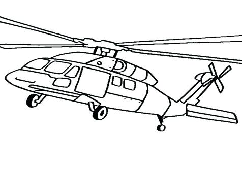 476x333 Helicopter Picture To Color Black Hawk Helicopter Coloring Pages