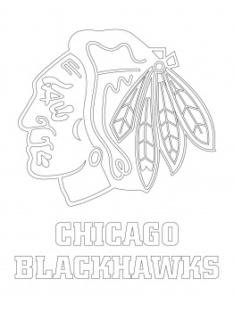 Blackhawks Coloring Pages