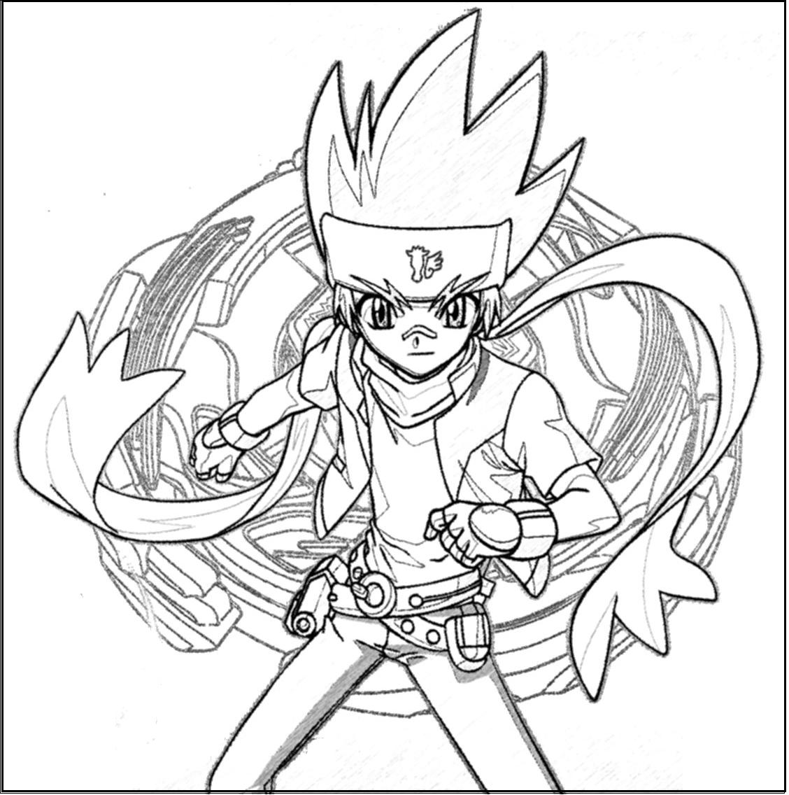 1128x1136 Free Printable Beyblade Coloring Pages For Kids