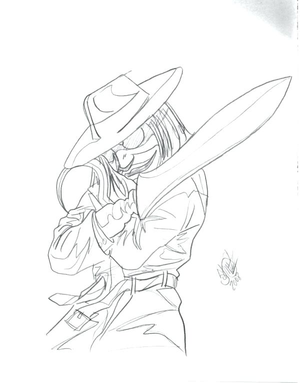 600x765 Puppet Master Coloring Pages Blade From Puppet Master