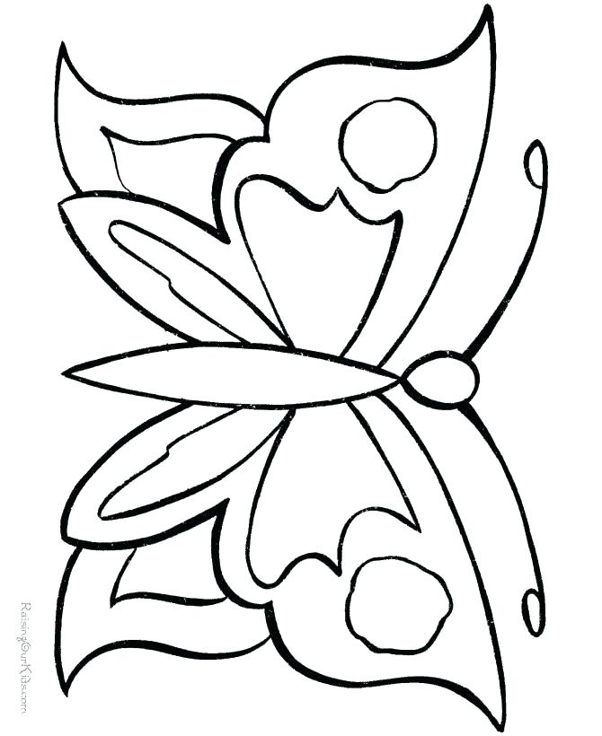 670x820 Butterfly Birthday Cake Template Printable Printable Coloring