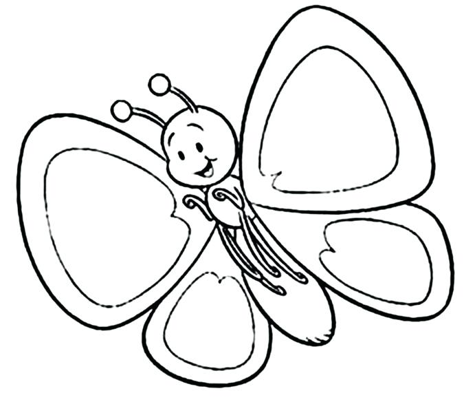 691x600 Coloring Pages Butterfly Pictures Elementary Coloring Pages