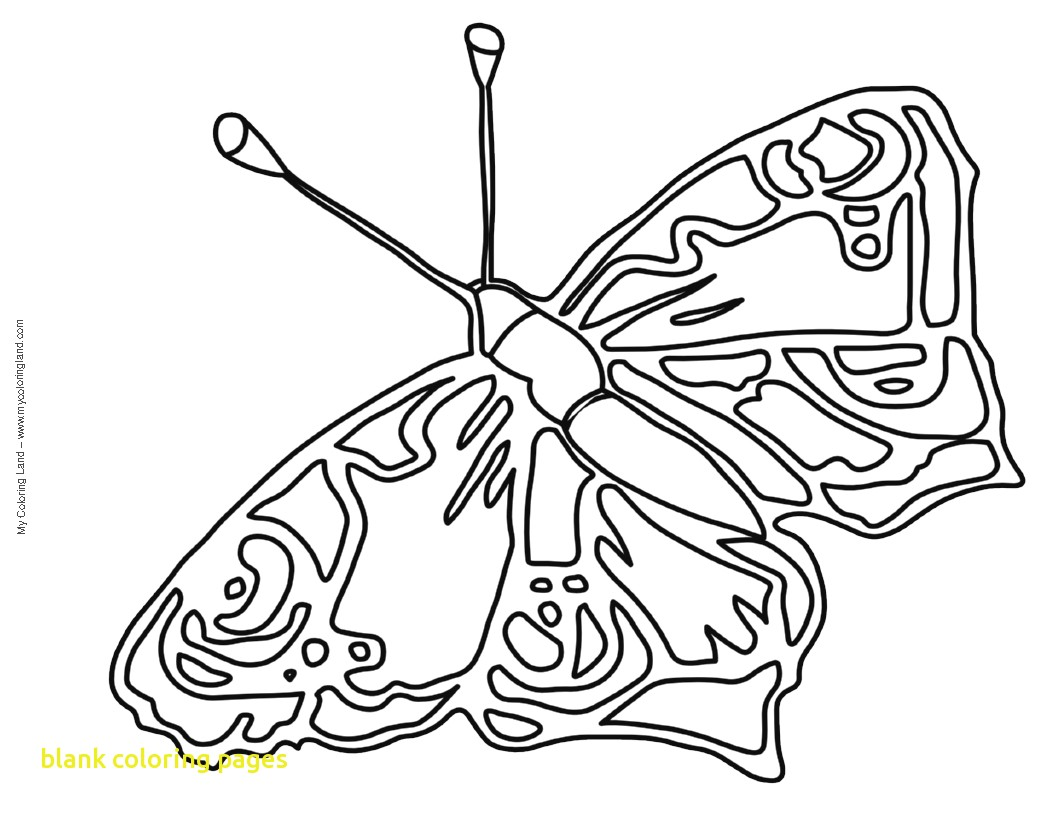 1056x816 Blank Coloring Pages With Butterfly Coloring Pages Butterfly