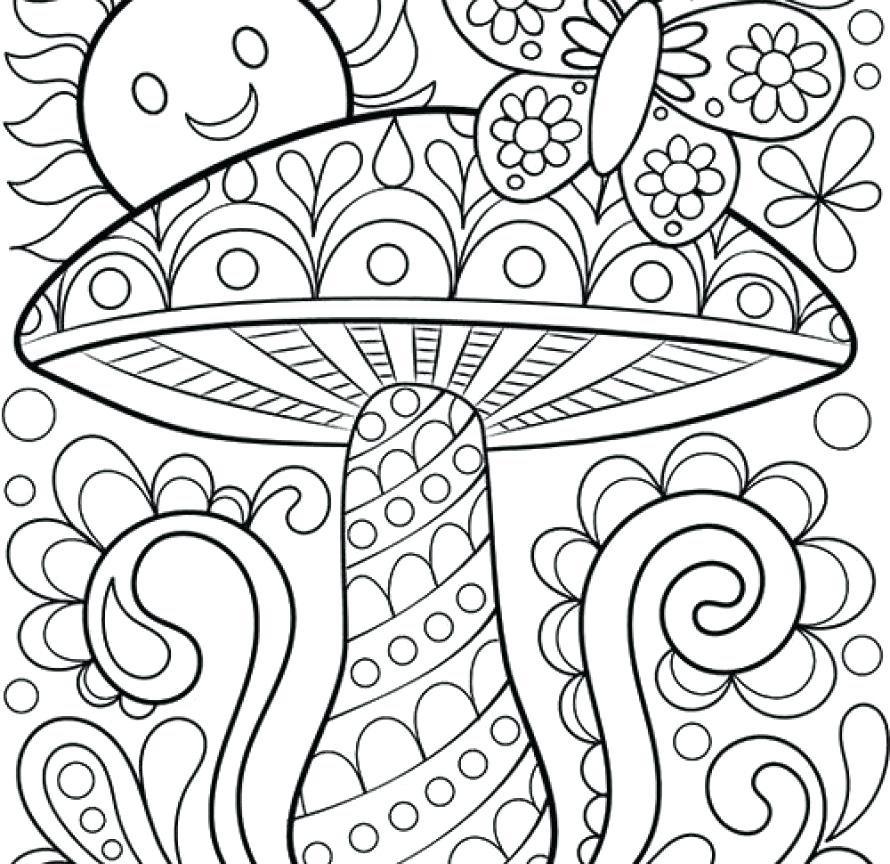 890x864 Blank Color Pages Blank Coloring Pages For Adults Page Printable