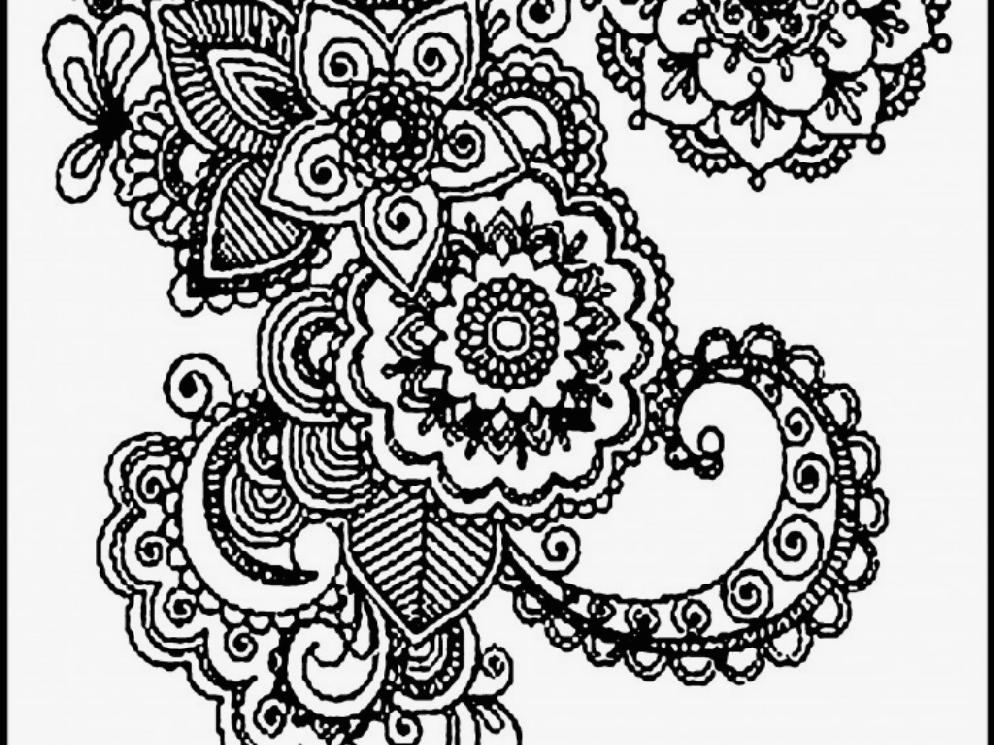 994x745 Coloring Pages Free Adult Coloring Pages Detailed Printable