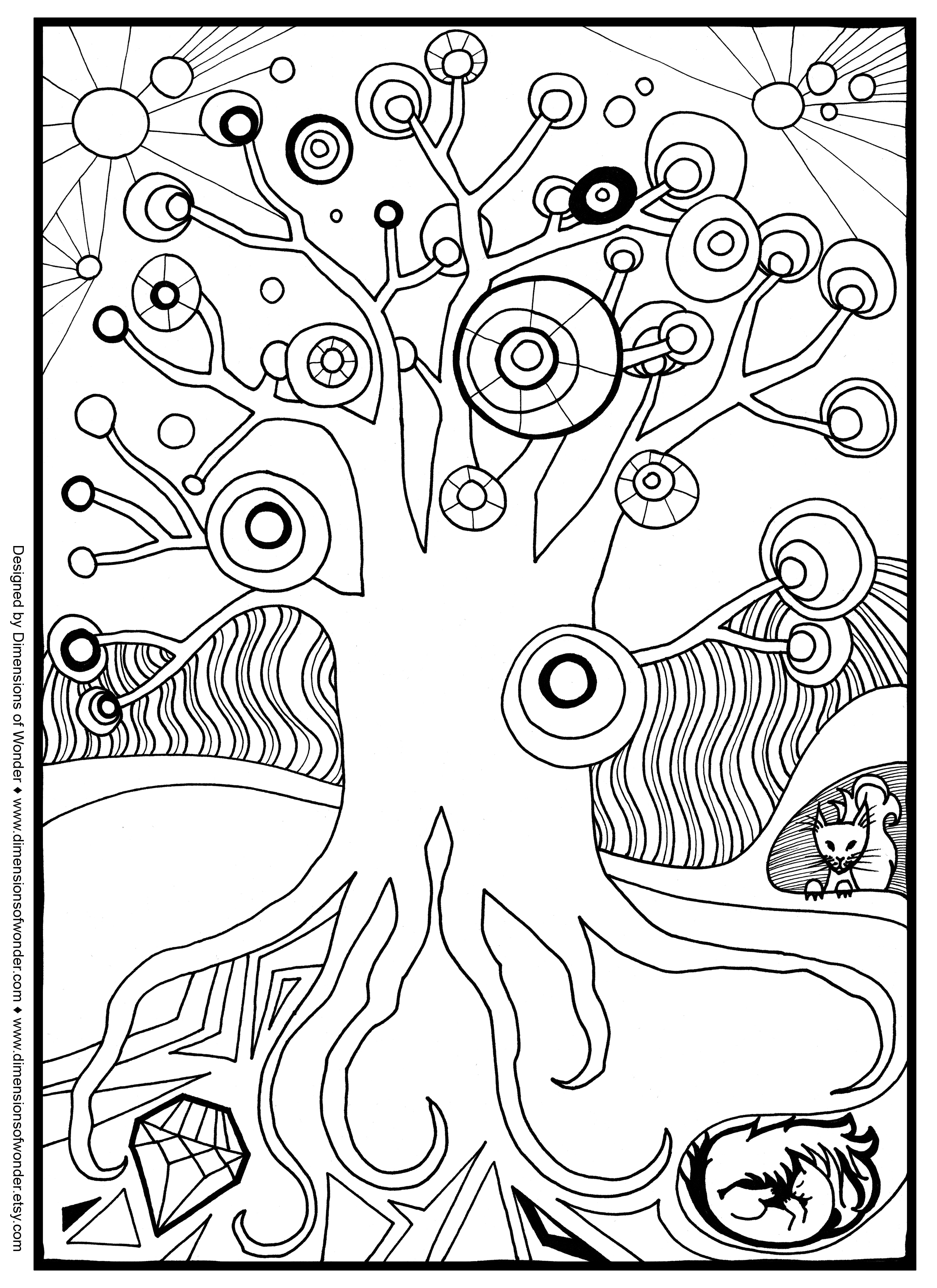 2400x3300 Free Coloring Pages Adults