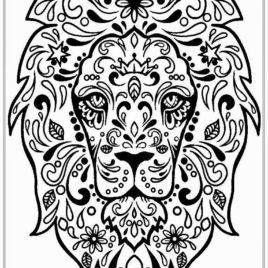 268x268 Blank Coloring Pages For Adults Give The Best Coloring Pages