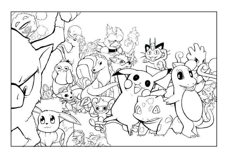 750x522 Pokemon Color Pages Printable Color Pictures Color Sheets