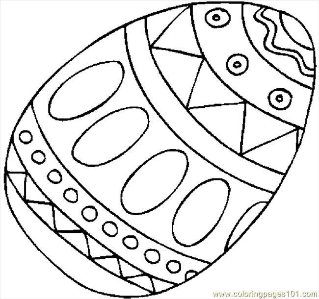 650x610 Free Easter Egg Coloring Pages Easter Egg Coloring Page Free