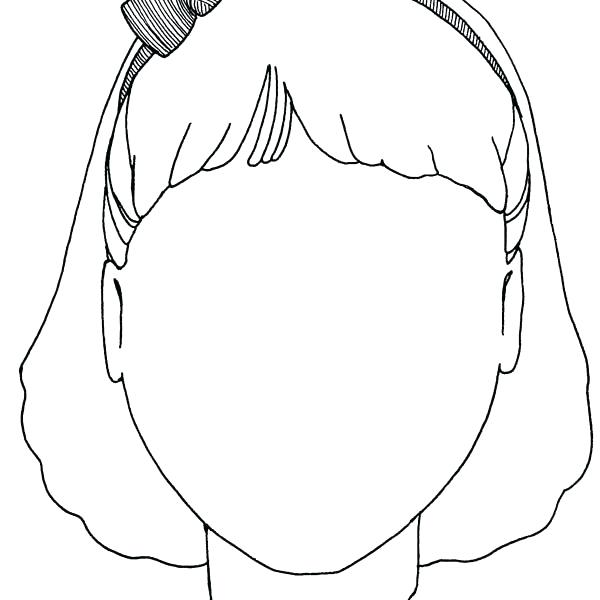 600x600 Blank Face Coloring Page Unique For Your Free Colouring Baby
