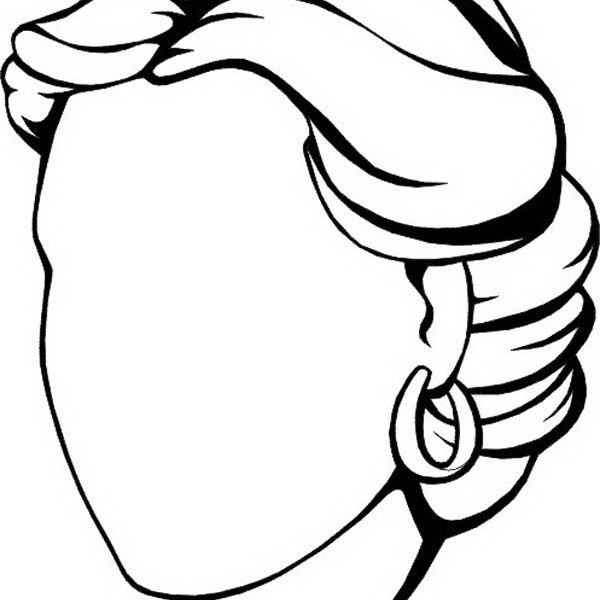 600x600 Blank Face Printable Coloring Pages Blank Face Coloring Page Many