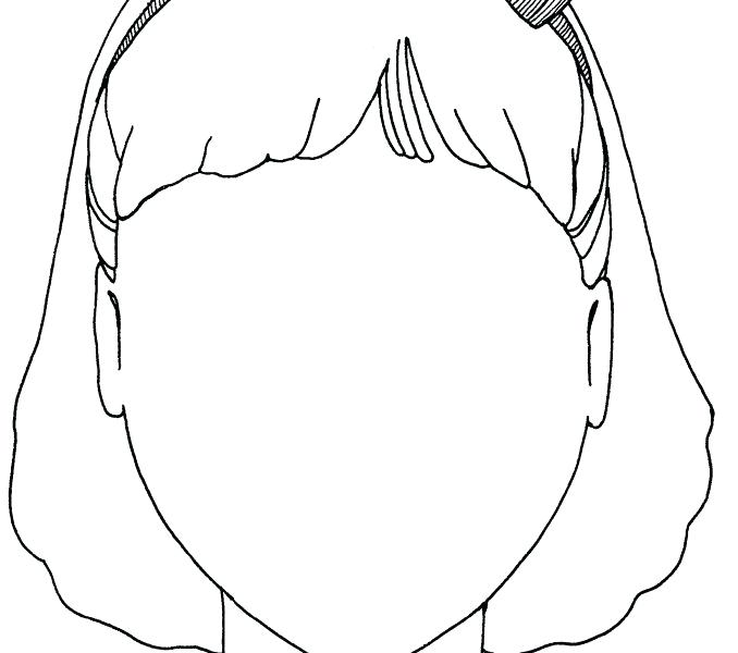 678x600 Blank Face Printable Coloring Pages Face Coloring Pages Printable