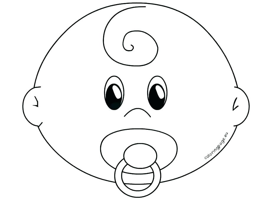 921x678 Face Coloring Page Head Coloring Pages Head Coloring Page Blank