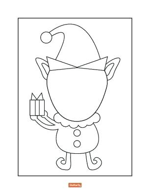 306x396 Girl Face Coloring Page Blank Face Coloring Page Elf Blank Girl