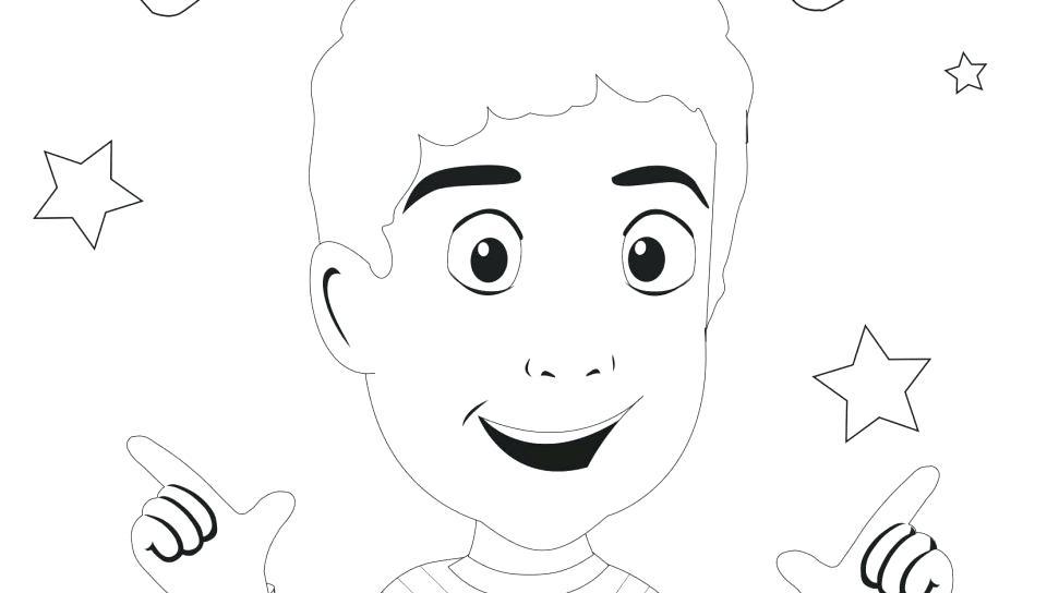 960x544 Makeup Face Coloring Pages