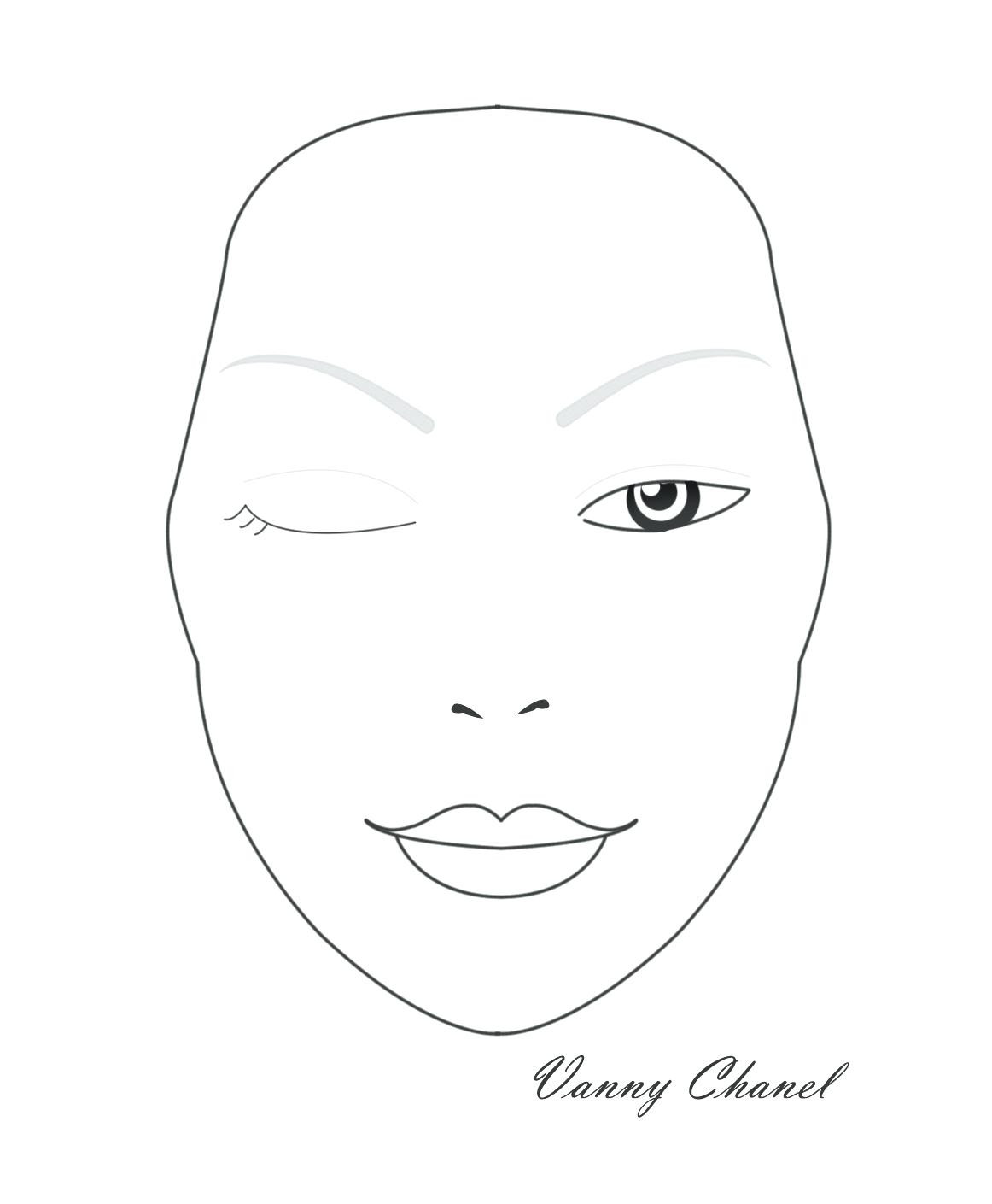 1162x1409 Blank Face Coloring Page Thatswhatsup