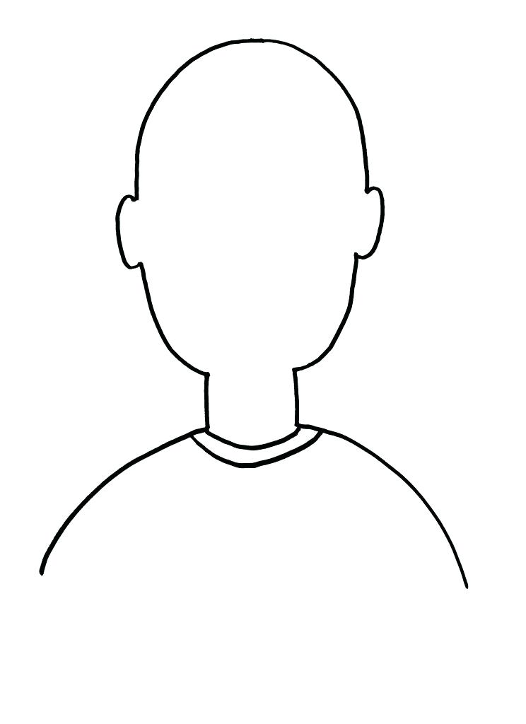 744x1024 Blank Face Coloring Page Best Blank Face Coloring Page On Coloring