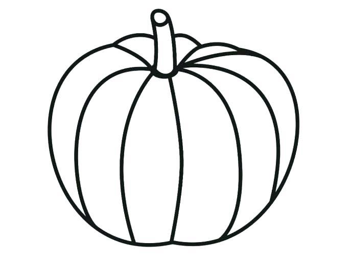 687x515 Pumpkin Coloring Page Blank Pumpkin Coloring Page Pumpkin Coloring