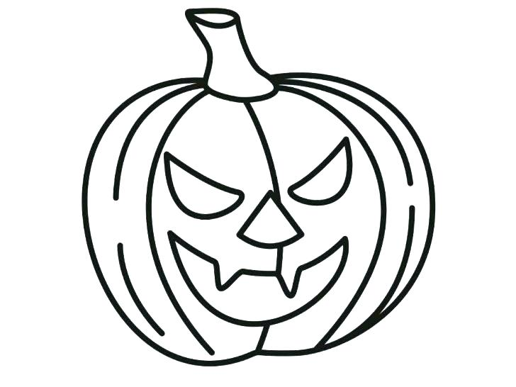 728x546 Blank Pumpkin Coloring Pages