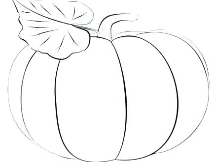 440x330 Blank Pumpkin Coloring Pages Blank Pumpkin Coloring Page Pumpkin