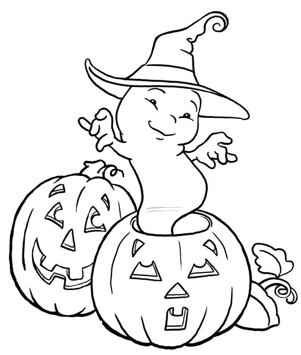 618x728 Blank Pumpkin Coloring Pages Ghost And Pumpkin Coloring Pages Kids
