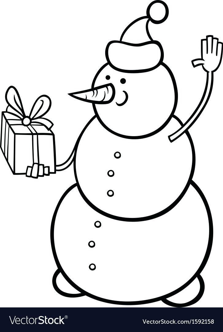 727x1080 Snowman Coloring Page Blank Snowman Coloring Page Snowman Coloring
