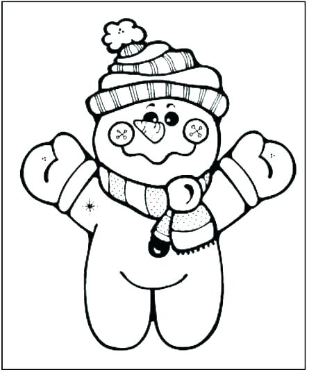 445x540 Blank Snowman Coloring Also Blank Snowman Coloring Pages Blank