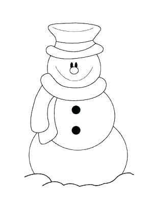 300x400 Free Snowman Printables