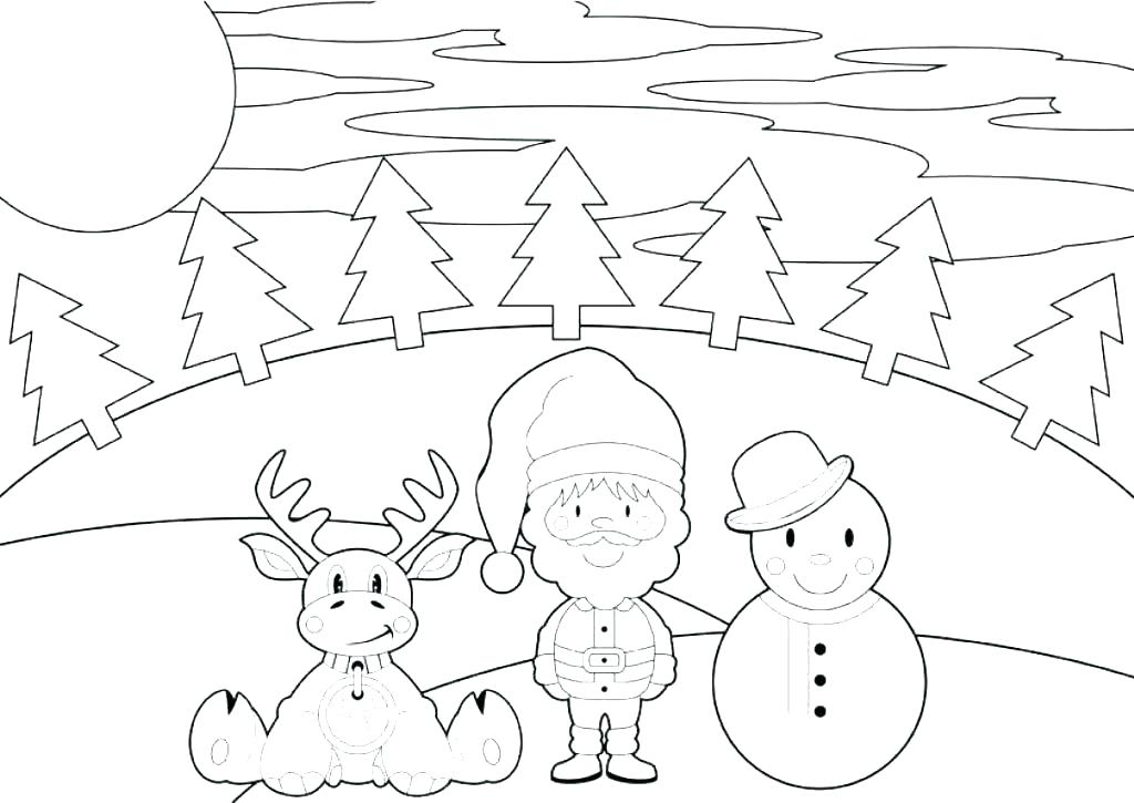 1024x725 Snowman Coloring Pages Printable Snowman Colouring In Snowman