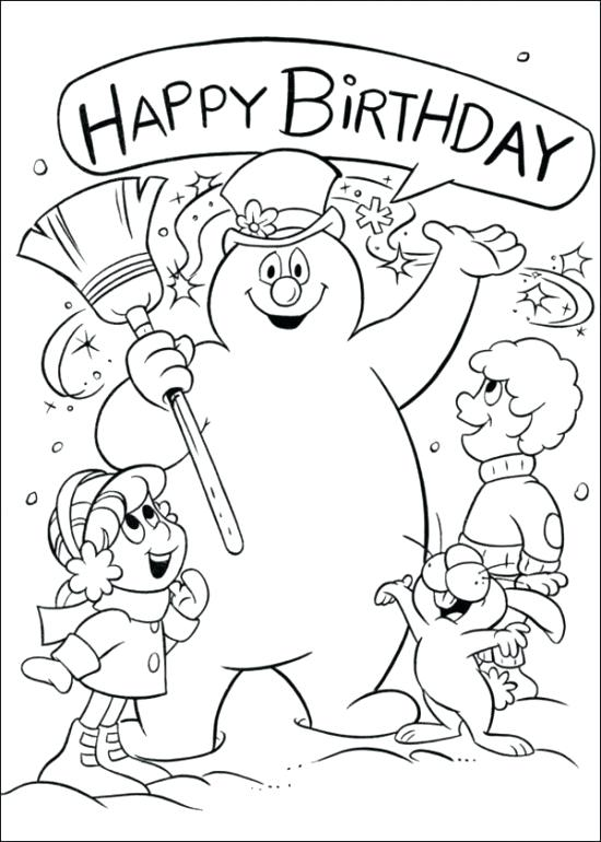 550x770 Snowman To Color And Print Blank Snowman Coloring Page Snowman