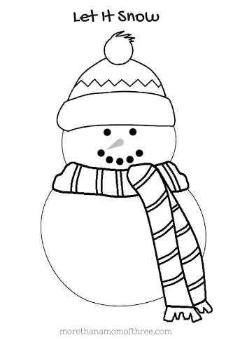 343x485 Blank Snowman Coloring Page Tags Snowman Coloring Page Seniors
