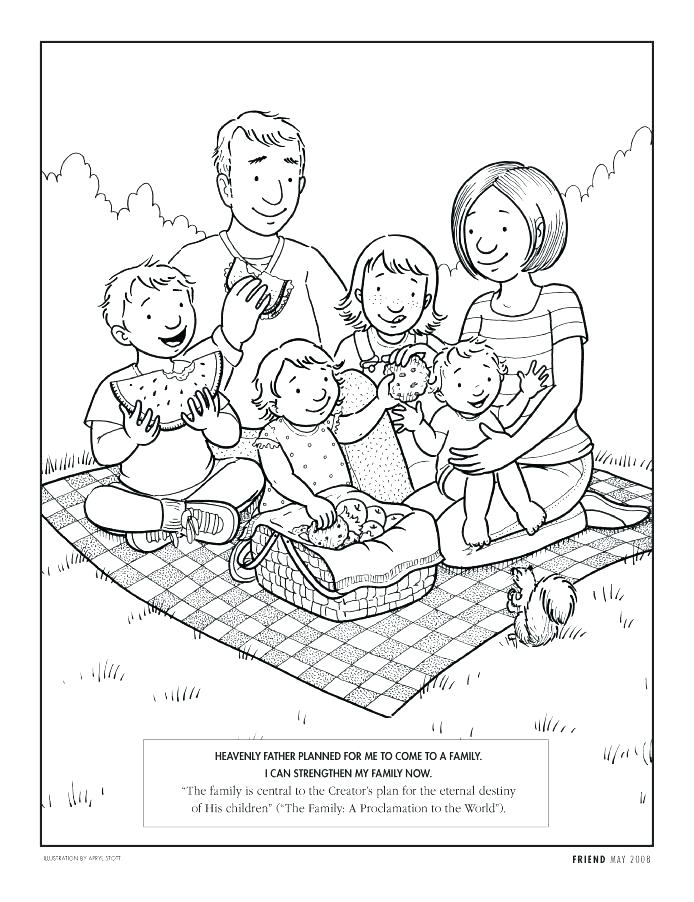 694x902 Picnic Coloring Page Picnic Coloring Pages Picnic Blanket Coloring