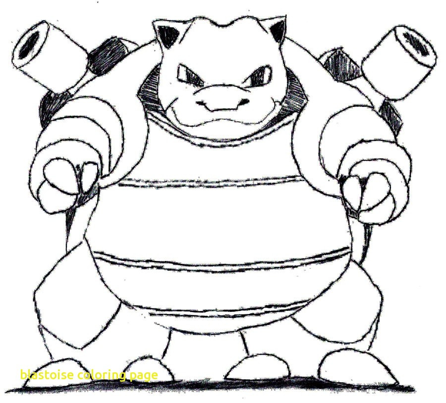900x814 Blastoise Coloring Page With Free Pokemon Pages Amazing