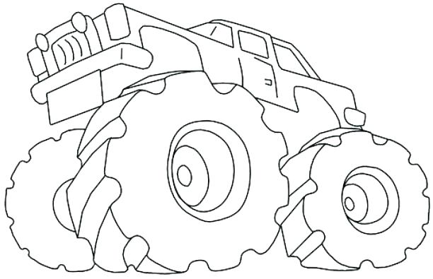 612x395 Blaze The Monster Truck Coloring Pages Together With Monster Truck