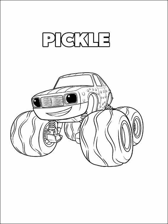 568x758 Blaze And The Monster Machines Coloring