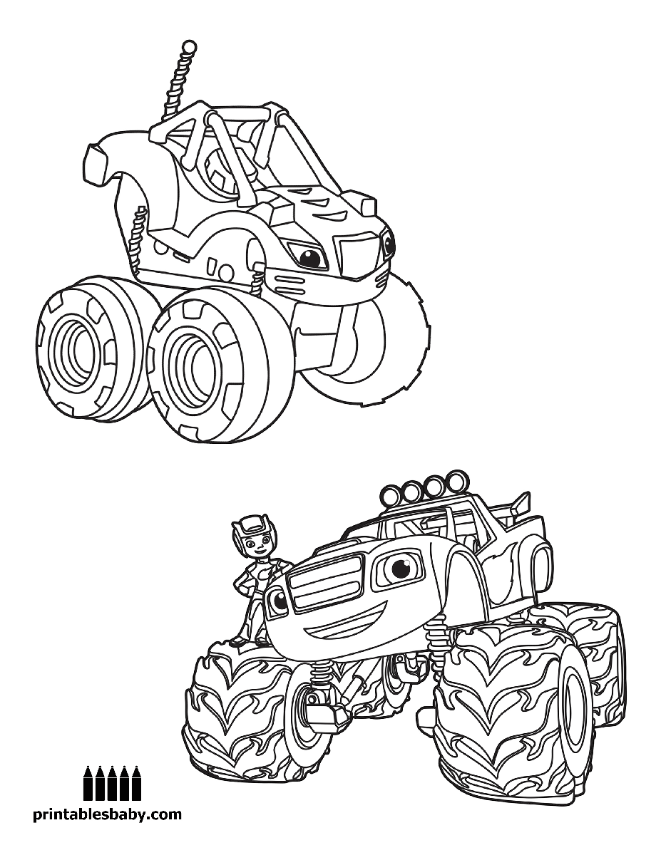 927x1200 Blaze And The Monster Machines Free Cartoons And Activities