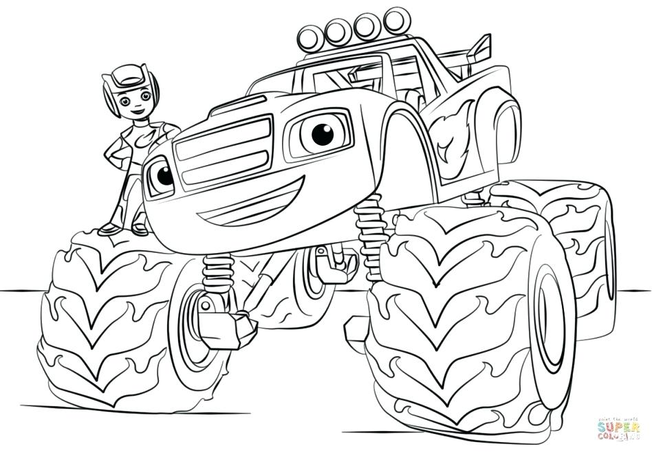 948x659 Monster Energy Coloring Pages Free Blaze To Print Download