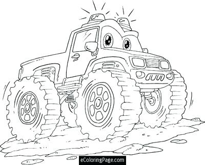 400x322 Blaze The Monster Truck Coloring As Well As Coloring Trend