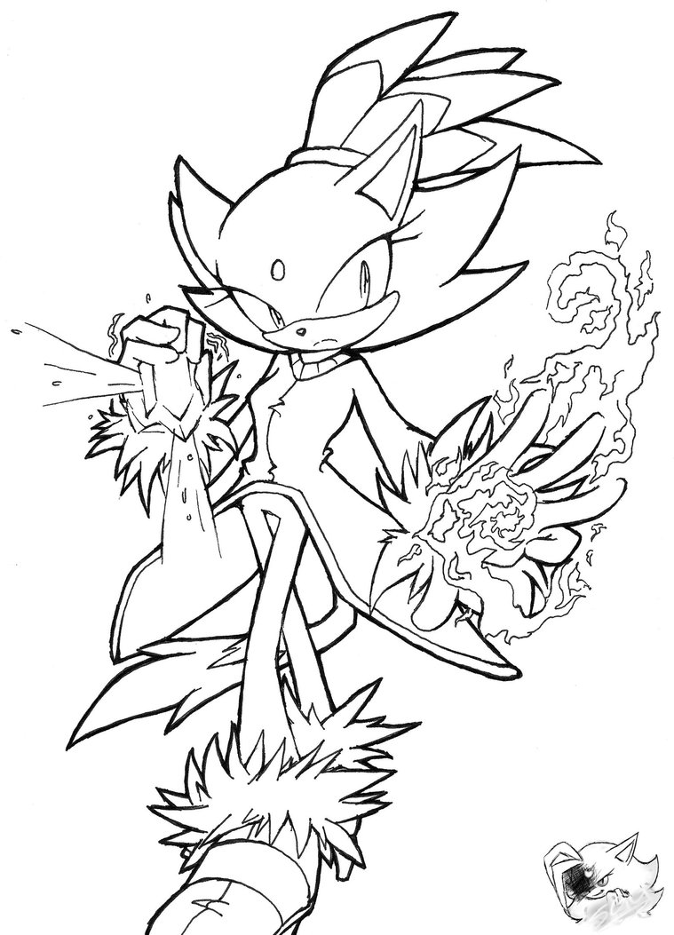 759x1053 Blaze The Cat Coloring Pages Aj From Brilliant