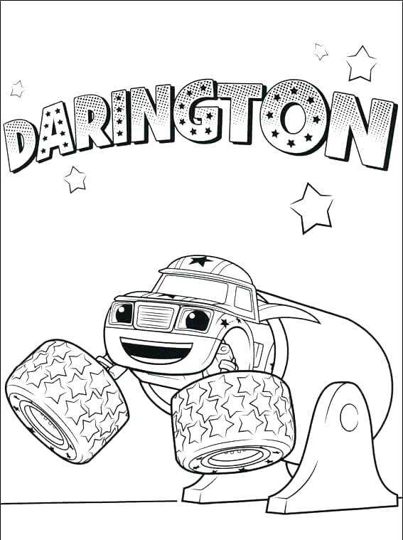 567x759 Blaze And The Monster Machines Coloring Pages