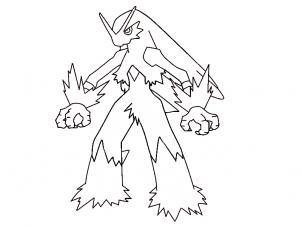 302x227 How To Draw Blaziken