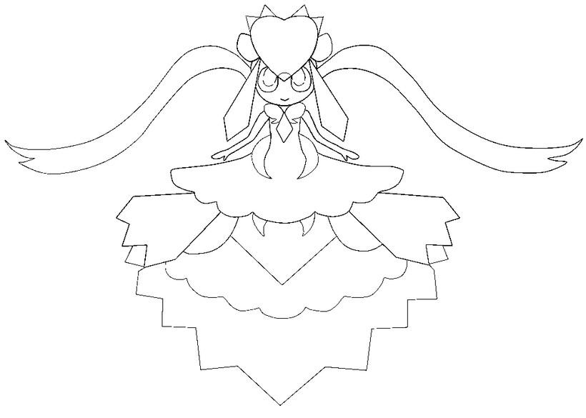 820x585 Mega Diancie Coloring Pages Mega Blaziken Pokemon Coloring Page