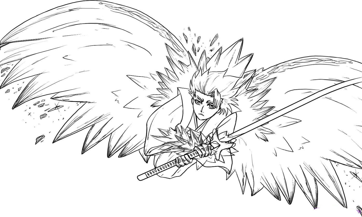 1500x899 Bleach Children Coloring Pages