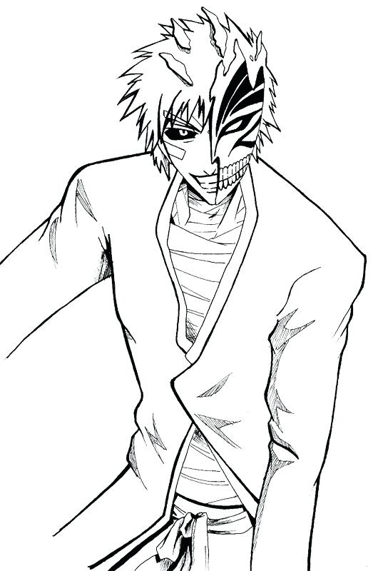 530x800 Bleach Color Pages Bleach Coloring Pages Bleach Coloring Pages